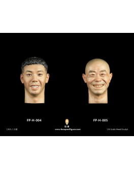 FacepoolFigure 1/6 Head Sculpt - FP-H-004 & H-005