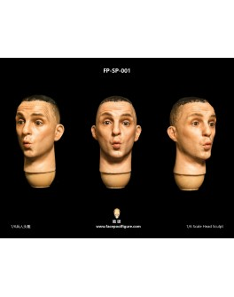 FacepoolFigure 1/6 Male Head Sculpt - FP-SP-001