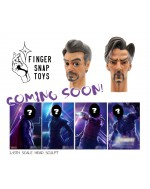 Finger Snap Toys 1/6 Scale Cartoon style head sculpt in 2 styles