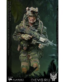 Flagset 73020 1/6 Scale US seals 6 team DEVGRU jungle dagger action