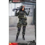 Flatset FS73021 1/6 Scale Chinese SLCU female sniper