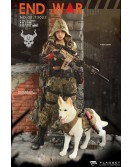 "Flagset 73022 1/6 Scale Doomsday DEATH SQUAD ""U"" Umir + Dog"