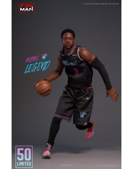 Toyman 1/6 Scale D Wade figure (Worldwide limit 50 units) (Flea Market)