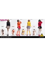 "FLIRTY GIRL 1/6 Scale ""MYSTERY GIRL"" Female Character Set  (SKIRT VERSION)"
