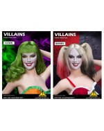 Flirty Girl 1/6 Scale VILLAINS Female head sculpt in 2 styles