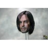 OSK1406196 MG Toys Custom made 1/6 Scale Implanted Hair Male Head Sculpt