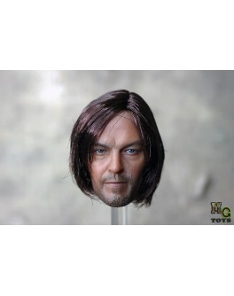 OSK1406196 MG Toys Custom made 1/6 Scale Implanted Hair Male Head Sculpt