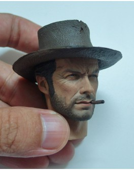 OSK1410318 Custom 1/6 Scale Clint Eastwood The Good Head Sculpt