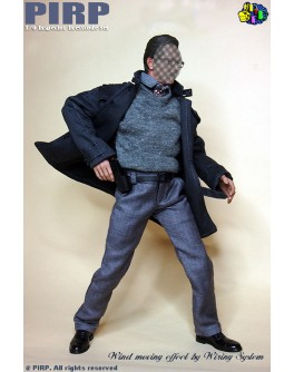 PIRP 1/6 Inspector Clothing Suit 2.0 For Hot Toys TTM21 Narrow Shoulder Body