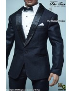 MG Toys 1/6 Mens Deep Blue Tuxedo Suits B
