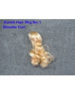 KUMIK 1/6 Scale Female Hair Wig No.1 - Blondie Curl Style