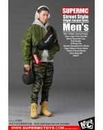 SUPERMCToys 1/6 Scale Men's Street Style Flight Jacket Set