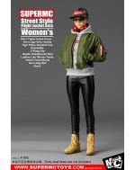 SUPERMCToys 1/6 Scale Women's Street Style Flight Jacket Set