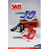SuperMcToys F081 1/6 Scale SK8 Shoes 3.0 in 4 Styles