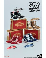 MCTOYS 1/6 Scale SK8 Shoes in 4 Color Styles