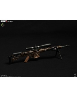 Officially Licensed MSE 1/6 Scale Multi-Role Brown Barrett MRAD Sniper Rifle