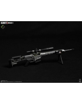 Officially Licensed MSE 1/6 Scale Tungsten Grey Barrett MRAD Sniper Rifle