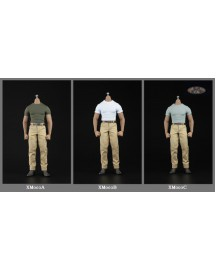 XRF XM003 1/6 Scale Muscular body costume set in 3 styles
