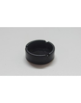 1/6 Scale Plastic Toy Black Ashtray