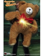 Custom Made Plush Bear For 1/6 Scale Terminator T800 Guardian Costume Display