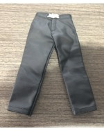 Custom 1/6 scale leather like pants for Blade costume