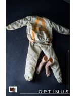 OneSixthKit 1/6 Scale Prisoner Outfit Set with Bare Feet