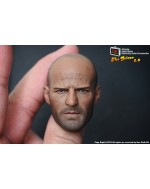 One Sixth Kit Custom 1/6 Scale Jason Statham 2.0 Head Sculpt