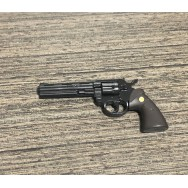 OneSixthKit 1/6 Scale Colt Python .357 Magnum Caliber Revolver in Black