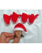 OSK1410295 Custom 1/6 Scale Pack of 5X Christmas Hats
