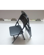 Custom 1/6 Scale Toy Folding Chair X2