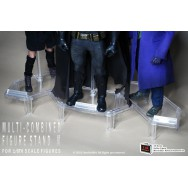 OneSixthKit Pack of 3 sets transparent figure stand