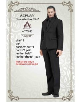Acplay 1/6 Scale Black Suit Set