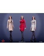 ACPLAY ATX049 1/6 Scale Female trench coat suit in 3 styles