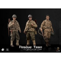 POPTOYS CMS004 1/12 Scale WWII US Rescue Squad Full Team