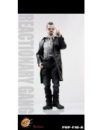 POPTOYS 1/6 F16 The Mafia style leather dress suit A