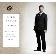 POPTOYS 1/6 Scale X26 Standard Western-style clothes suit /Four colors