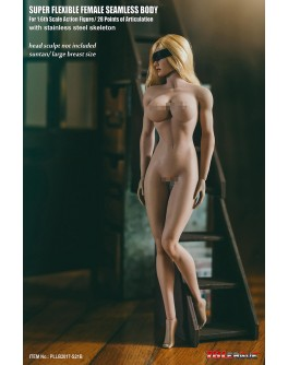 TB League S21B 1/6 Scale Suntan Large Bust Seamless Female Body