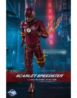 Soosootoys 1/6 scale collectible SST001:Scarlet speedster