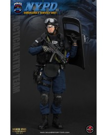 """Soldier Story 1/6 NYPD ESU """"TACTICAL ENTRY TEAM"""" #SS100"""