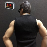 One Sixth Kit 1/6 Scale Highly Detail Black Singlet
