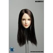 SuperDuck SDH015 1/6 Scale Female head sculpt in 4 styles