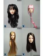 SuperDuck SDH015 1/6 Scale Female head sculpt in 4 styles