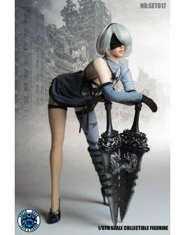 SuperDuck SET017 1/6 Scale Female Robot Costume Set