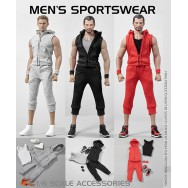 Hot Heart VA04 1/6 Scale Men's Sportswear in 3 styles