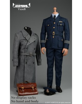 VORTOYS V1008 1/6 Scale WWII Allies AirForce Officer Costume