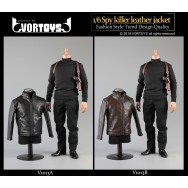 Vortoys V1013 1/6 Scale Spy Killer Costume set in 2 styles