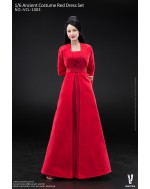 Verycool VCL1003 1/6 Scale Ancient Costume Red Dress Set