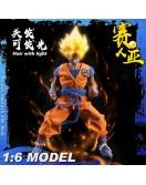 TYS cosplay 1/6 Scale Saiyan warrior Ku Costume set