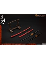 Wolfking WK88004 1/6 Scale Set of Katana in two color styles