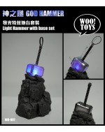 Wootoys WO-007 1/6 scale god hammer with base